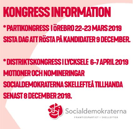 Kongressinformation
