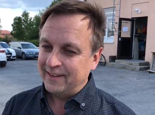 Lorents Burman intervjuas av Mats Ekman om Norrbottniabanan.