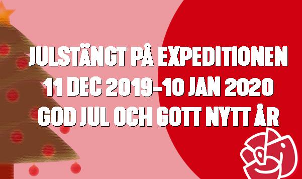 JULSTÄNGT 2019